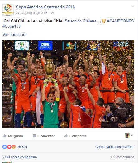 Post principal de Chile