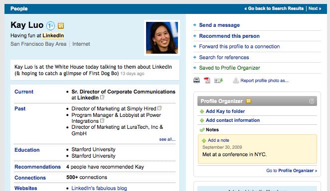 organizer-widget-in-profile-1